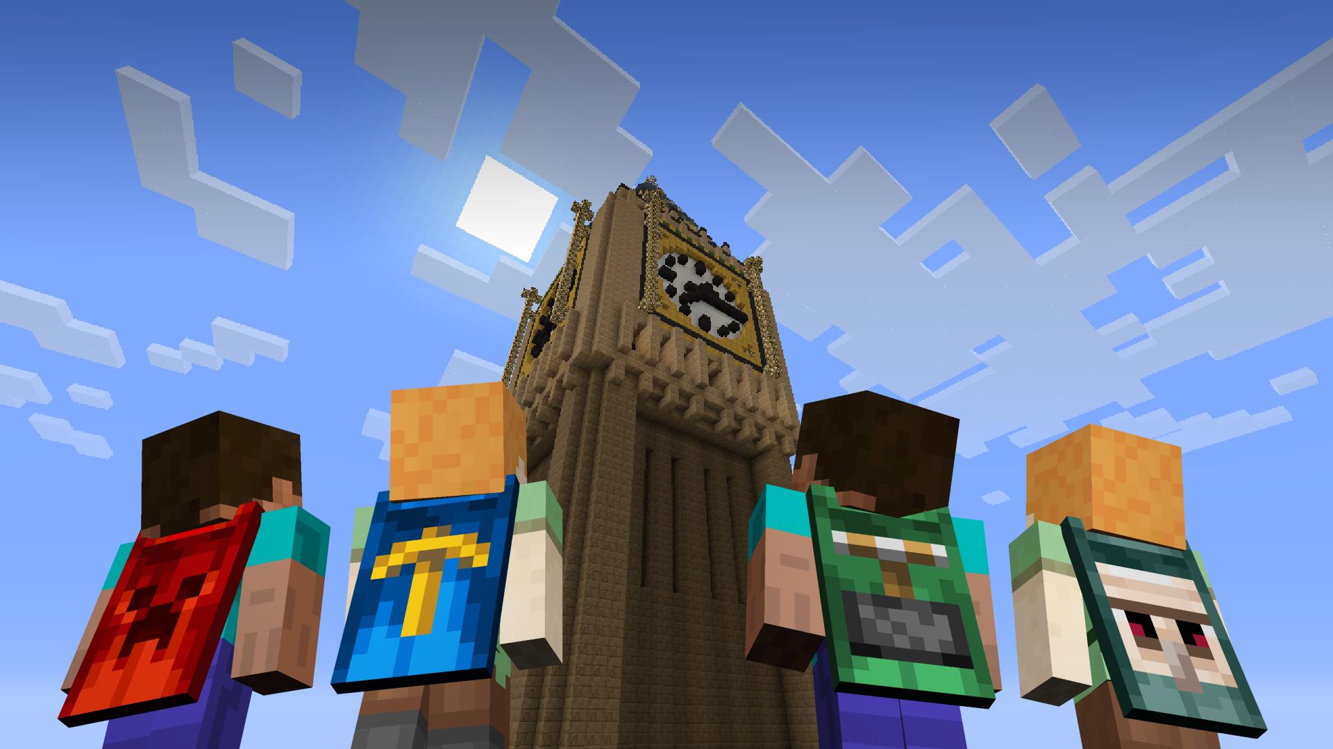 Littlebigplanet Meets Minecraft Minecon Capes