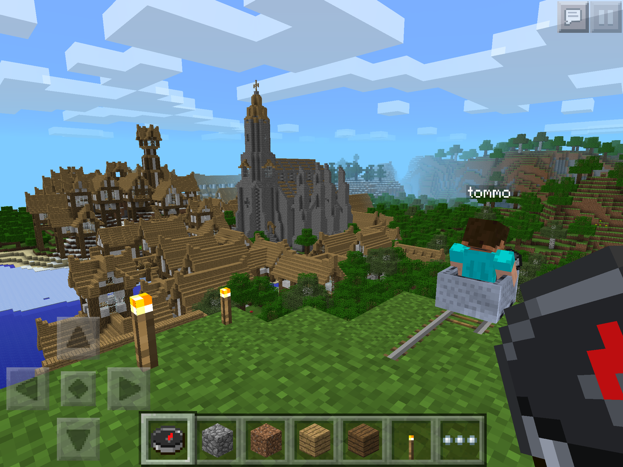 Minecraft pocket edition 0 8 0 is out for Modern house minecraft pe 0 12 1