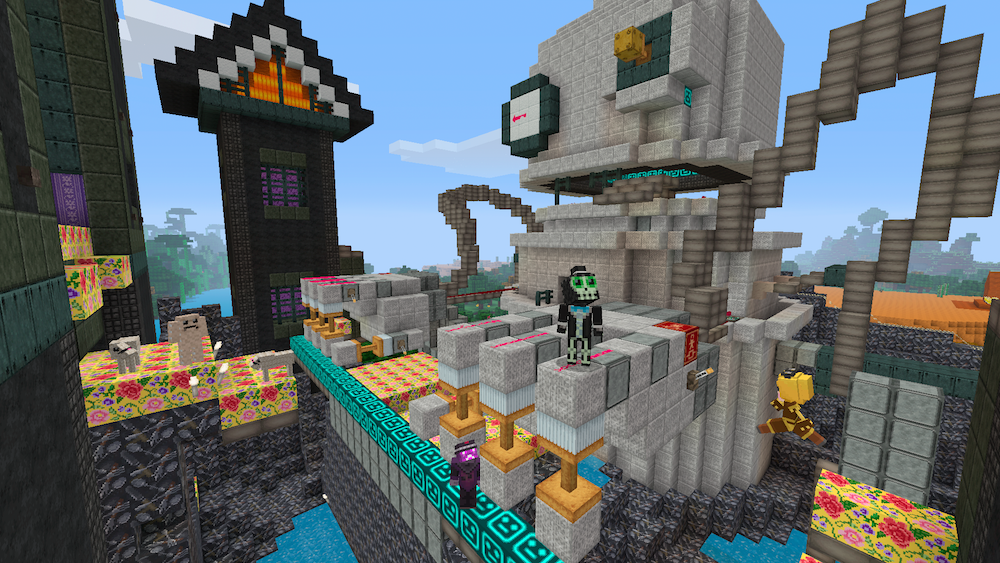 LittleBigPlanet Meets Minecraft Minecon Capes - Little big world map