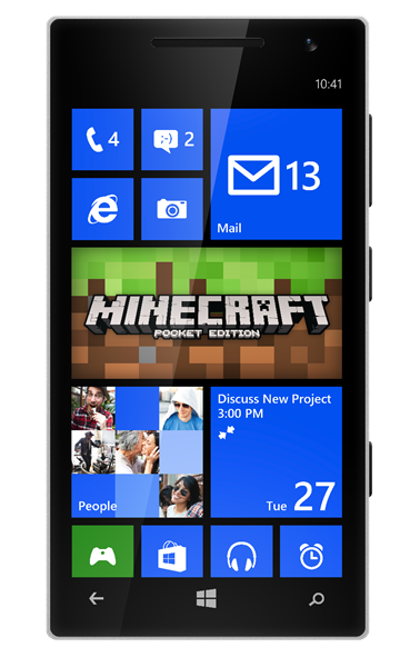 Pocket Edition comes to Windows phones