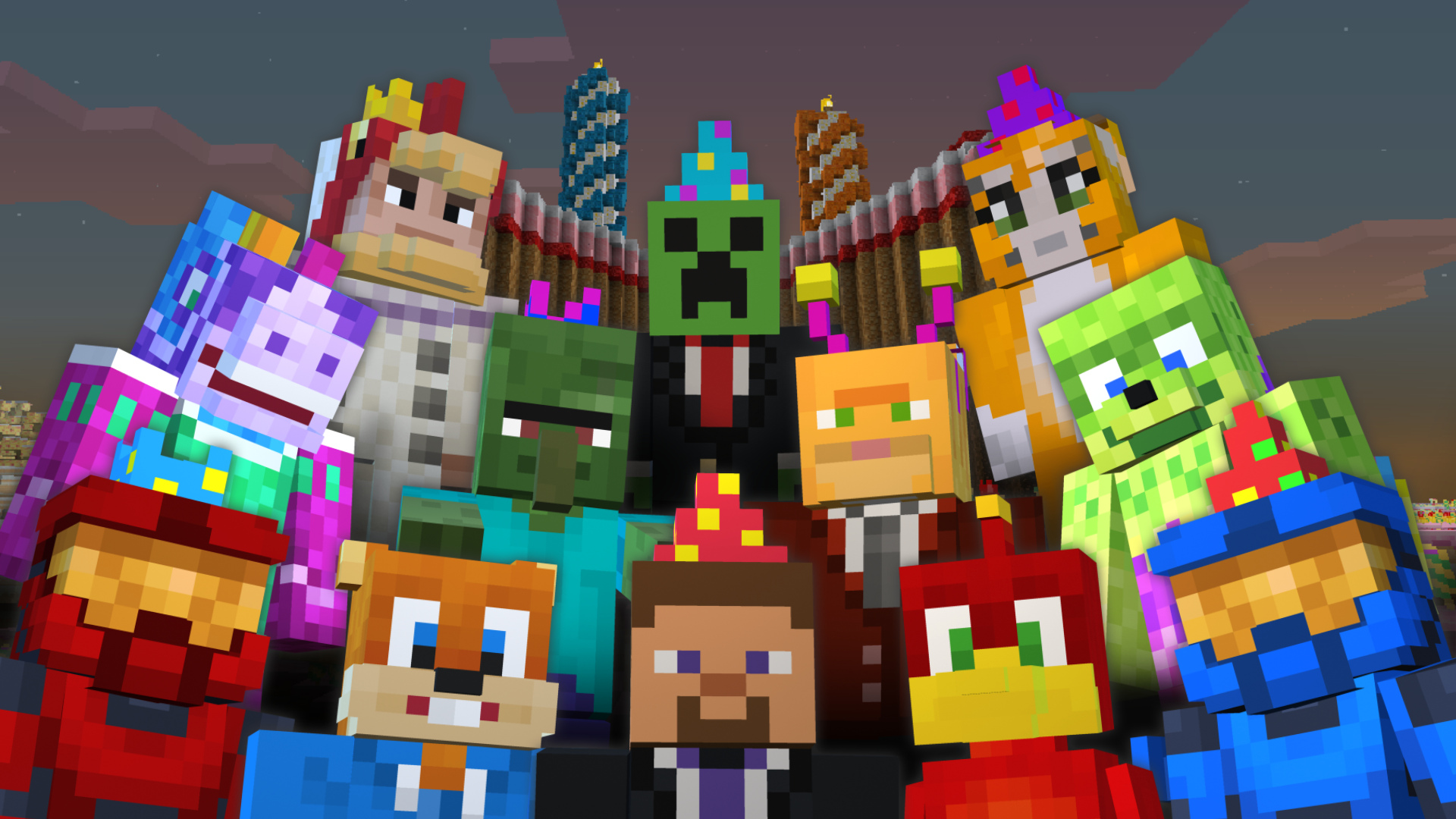 Happy Birthday Minecraft: Xbox 360 Edition!