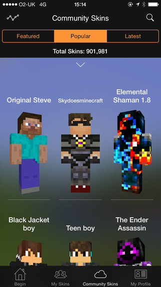 Minecraft Skin Studio Encore Now Available - Minecraft skins fur mac