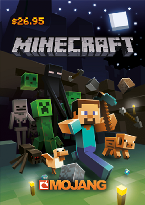 minecraft gift cards now available in the us