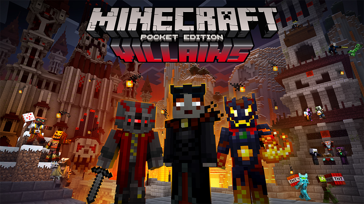 Villains Skin Pack Ruthlessly Conquers Pocket Edition - Skins para minecraft de pc