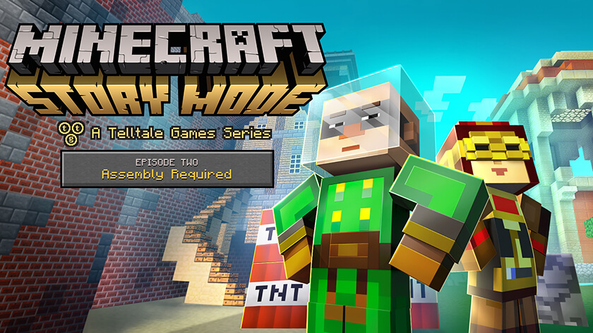 minecraft story mode apk pc