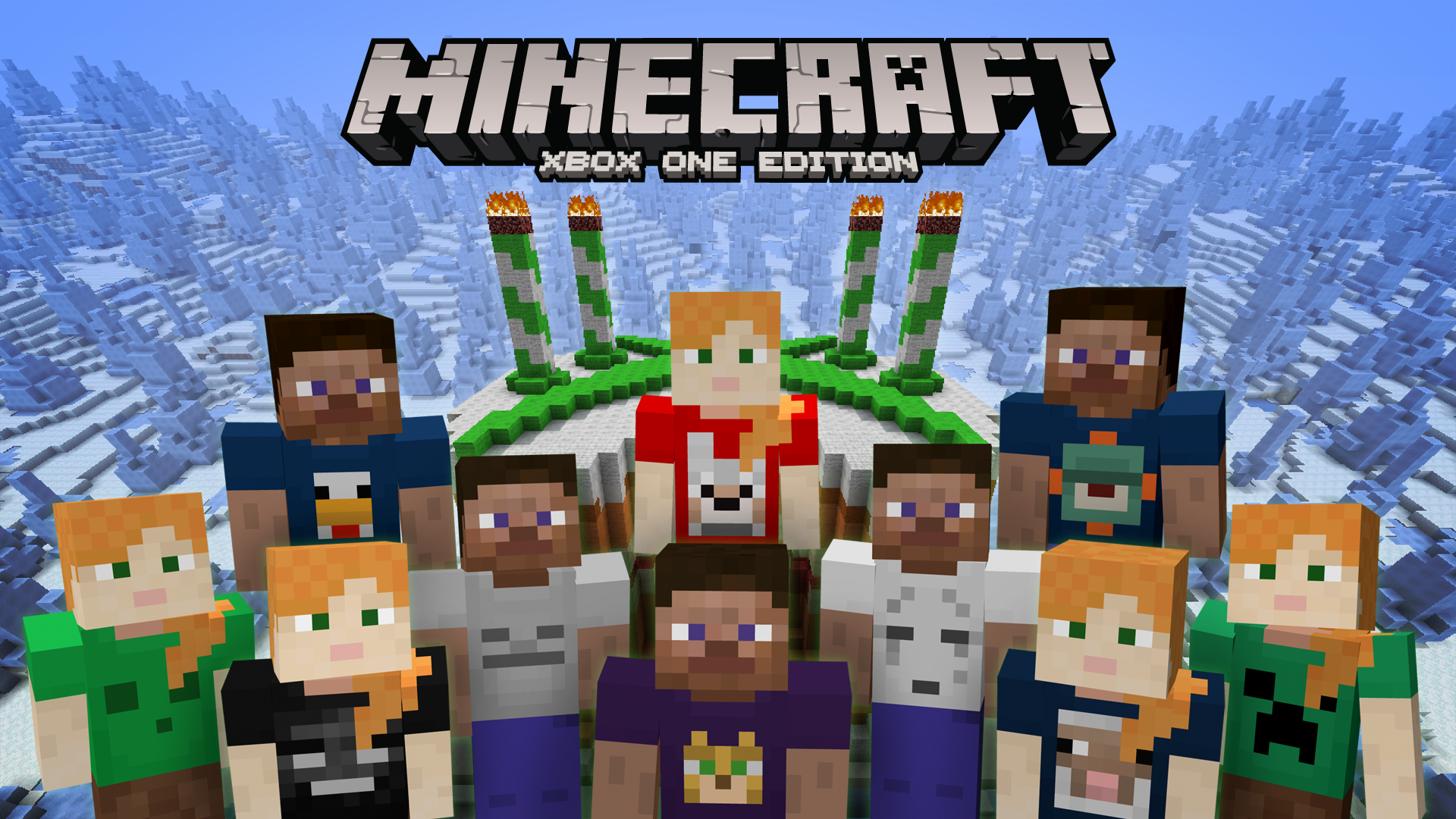 Xbox 360 Minecraft Cover Celebrate Xbox Edition...