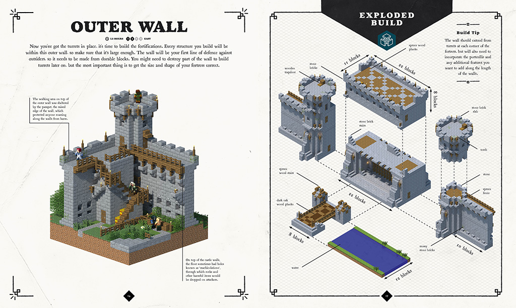 New book alert build a mighty medieval empire How do you read blueprints