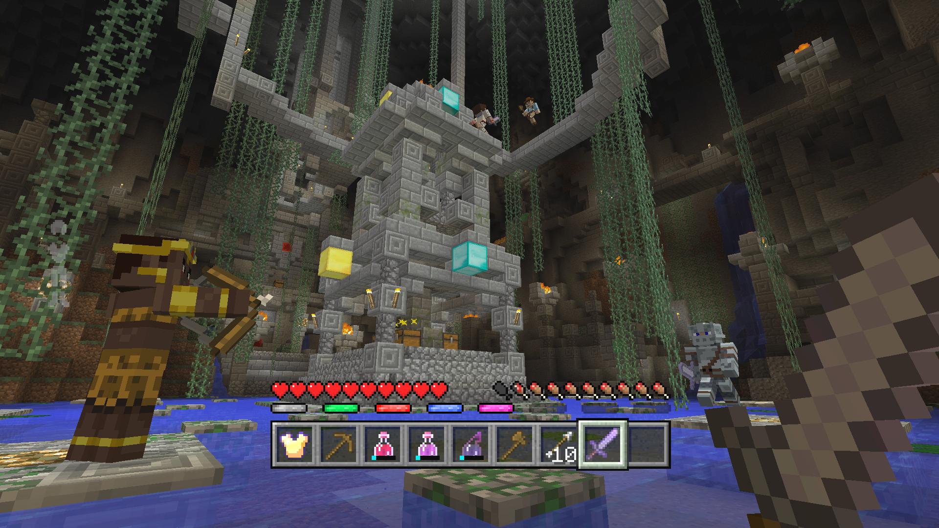 Minecraft Minispiele Für Konsolen Kommen Im Juni - Minecraft spielen sofort