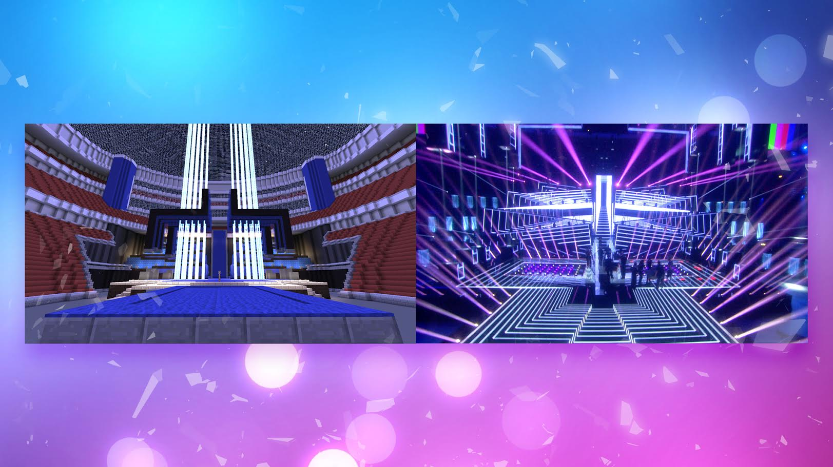 Download The Eurovision Stage Reenact The Magic - Sweden map minecraft download