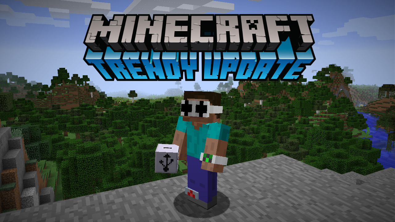 Minecraft 1.RV  the Trendy Update Prerelease 1
