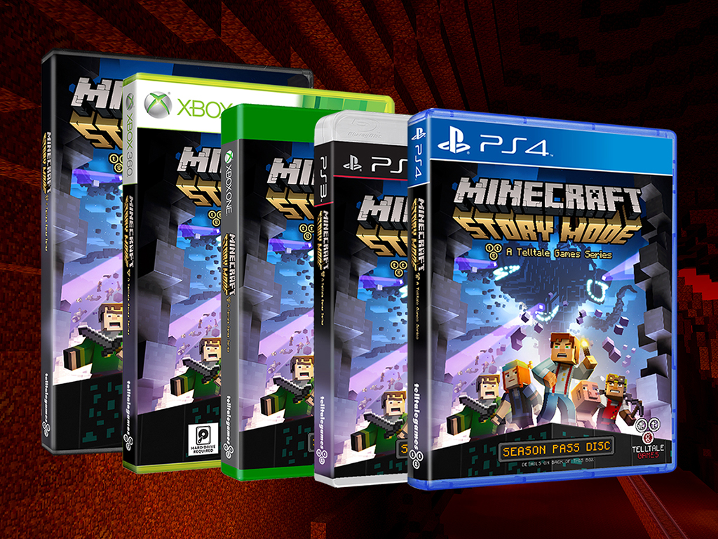 Minecraft Story Mode Episode 1 Due This October