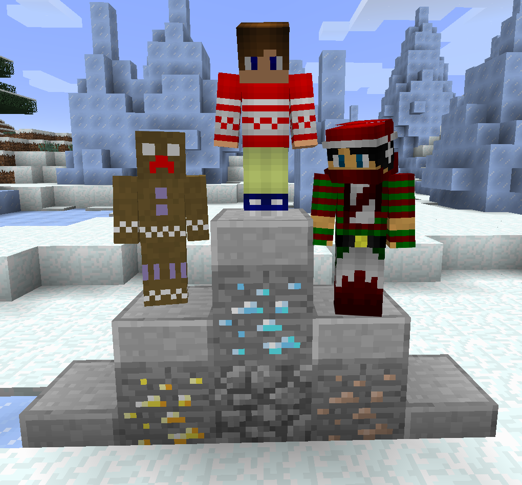 The Holiday Skin Competition Winners Post - Skins para minecraft pe swag